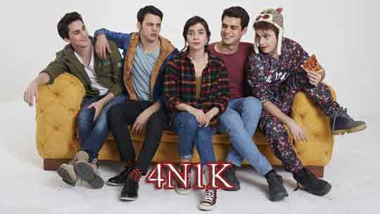 Турецкий сериал 4N1K (2017)