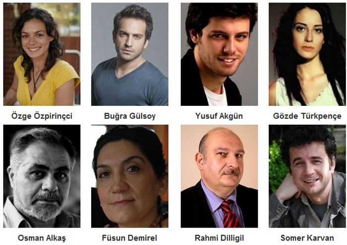 Турецкий фильм Горький, сладкий, кислый актеры