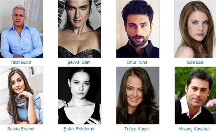 Турецкий сериал Запретный плод фото актеров