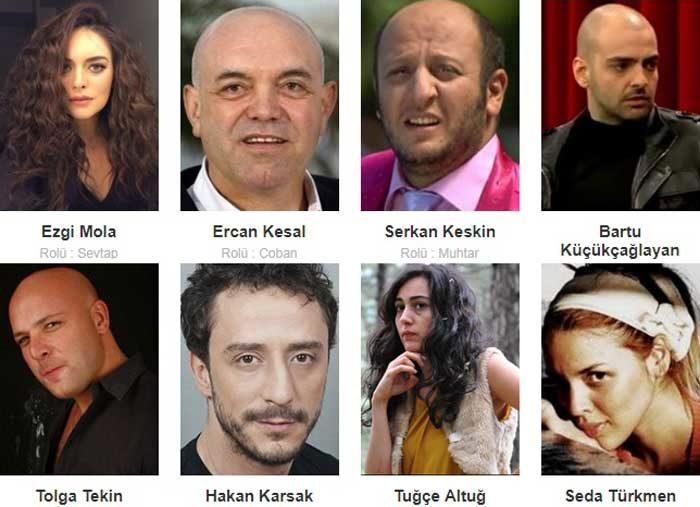 Турецкий фильм Бабочки фото актеров