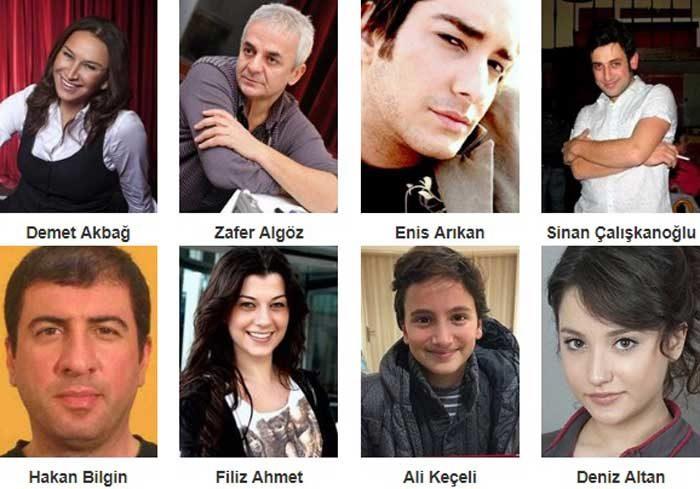 Турецкий фильм Отпуск фото актеров
