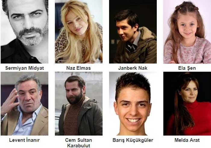Турецкий фильм Держи меня за сердце, мама фото актеров
