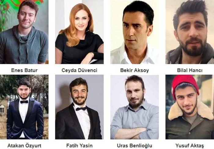 Турецкий фильм Энес Батур. Мечта или реальность? фото актеров