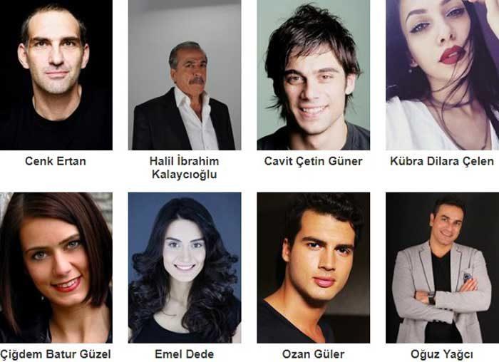 Турецкий фильм Бордовые береты-2: Африн фото актеров