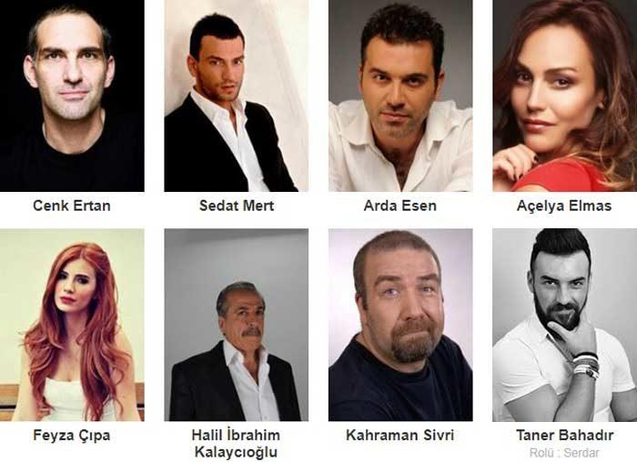 Турецкий фильм Бордовые береты. Сирия фото актеров