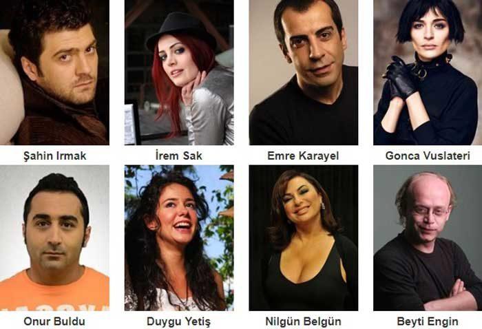 Турецкий фильм Хаос в банкетном зале фото актеров