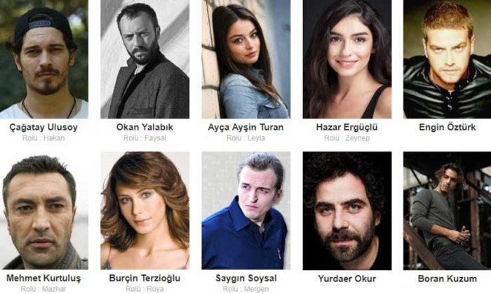 Турецкий сериал Защитник актеры сериала
