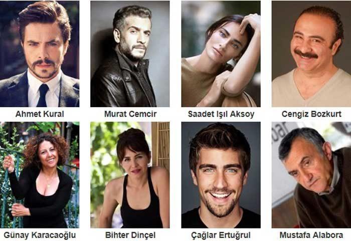 Турецкий фильм Вы удивлены семьей фото актеров