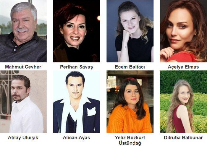 Турецкий фильм Остались только мечты фото актеров