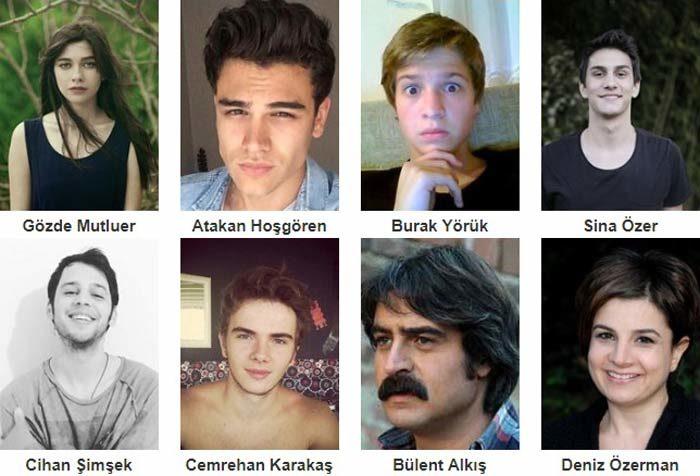 Турецкий фильм 4N1K — 2 фото актеров