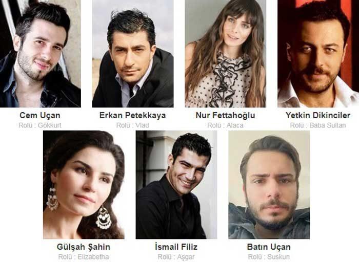 Турецкий фильм Безумцы фото актеров