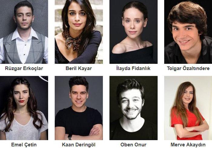 Турецкий фильм Умные студенты: Ограбление фото актеров