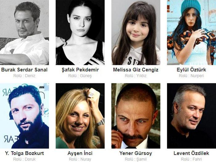 Турецкий фильм Море и солнце фото актеров