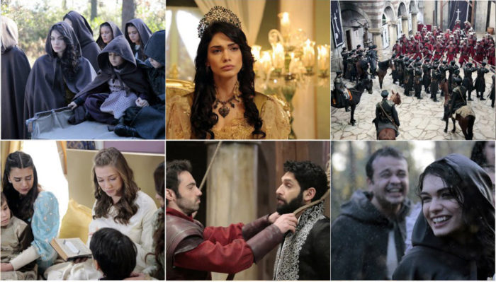 Сериал Султан моего сердца / Kalbimin Sultani - 7 серия, фрагменты