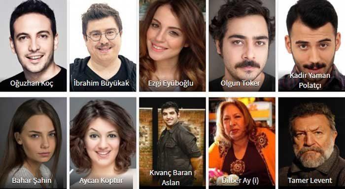 Турецкий фильм Мой спутник – 2 актеры фильма