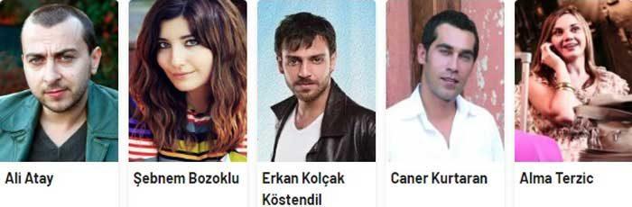 Турецкий фильм Турецкое мороженое актеры фильма