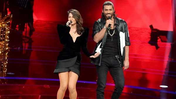 Джан Яман и Демет Оздемир дуэт на O Ses Türkiye