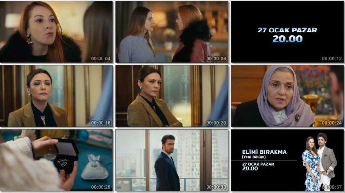 Сериал Не отпускай мою руку / Elimi Birakma - 26 серия, фрагменты