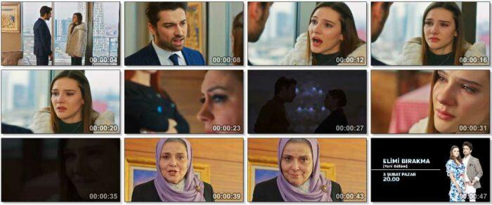 Сериал Не отпускай мою руку / Elimi Birakma - 27 серия, фрагменты