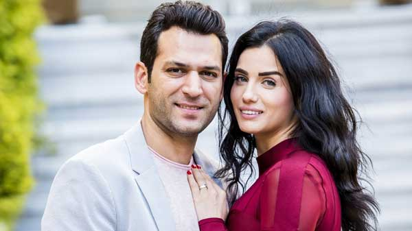 Мурат Йылдырым и Имане Эльбани после свадьбы