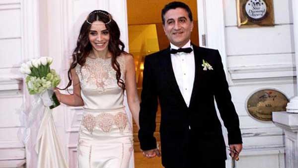 Нур Феттахоглу с мужем