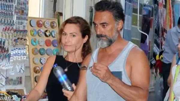 Селим Байрактар с женой Бихтер