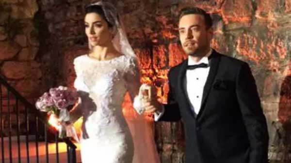 Мерве Болугур и Мурат Далкылыч свадьба
