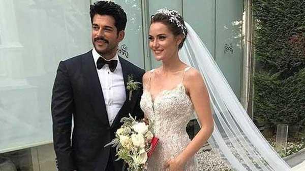 Фахрие Эвджен - свадьба