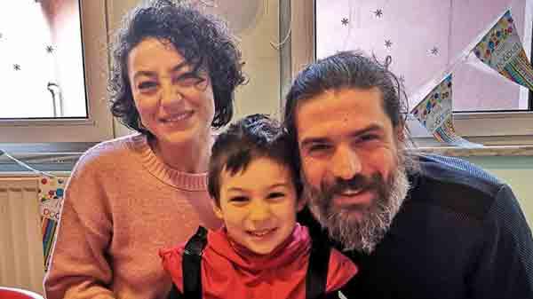 Джемал Токташ с женой и сыном